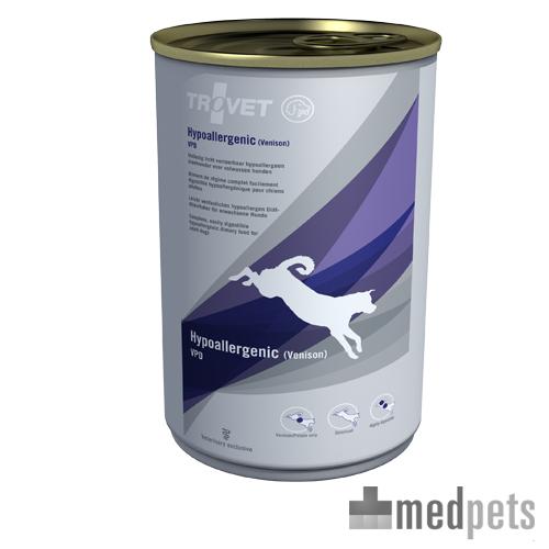 TROVET Hypoallergenic VPD Hundefutter - Dosen - Venison