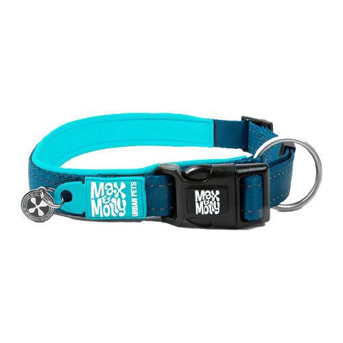 Max & Molly Smart ID Halsband - Blau