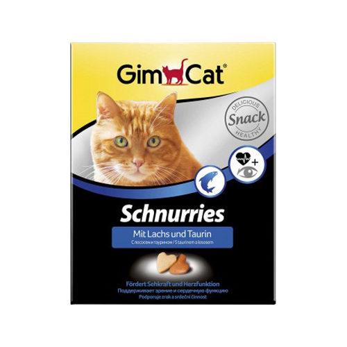 GimCat Schnurries - Lachs & Taurin