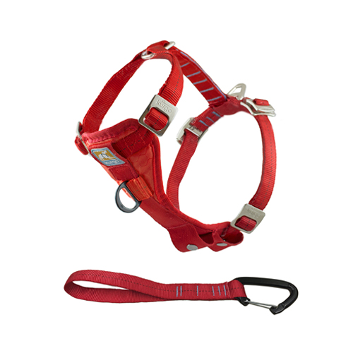 Kurgo Enhanced Tru-Fit Smart Harness - Rot