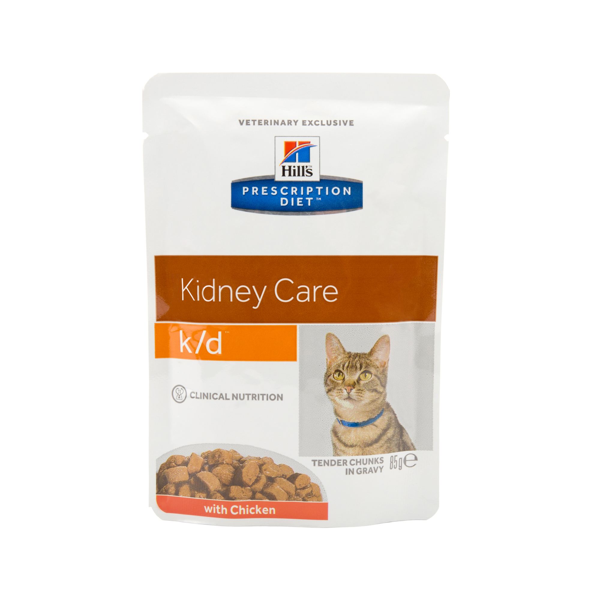 Hill's Prescription Diet k/d Kidney Care Katzenfutter - Frischebeutel - Huhn
