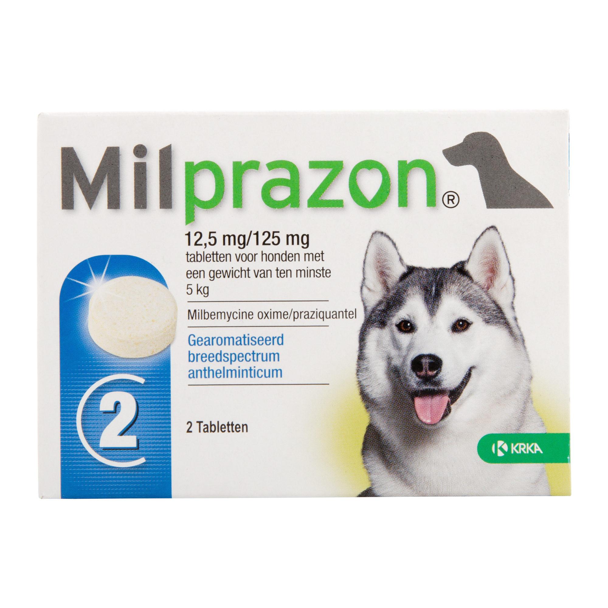 Milprazon - große Hunde (12,5 mg)