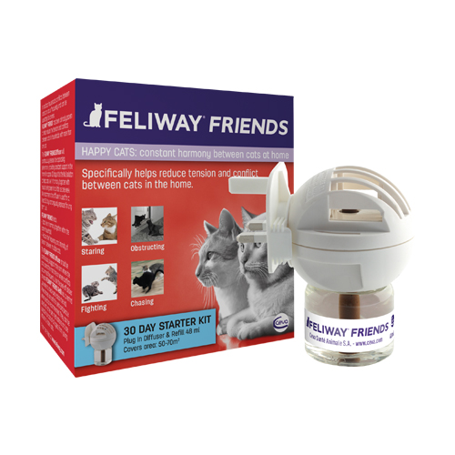 Feliway Friends Starterset (Zerstäuber und Flakon)