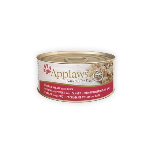 Applaws Katzenfutter - Dosen - Chicken Breast & Duck