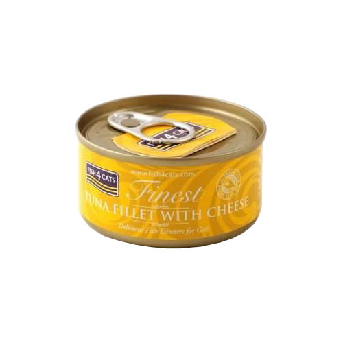 Fish4Cats Finest Katzenfutter - Dosen - Tuna Fillet with Cheese