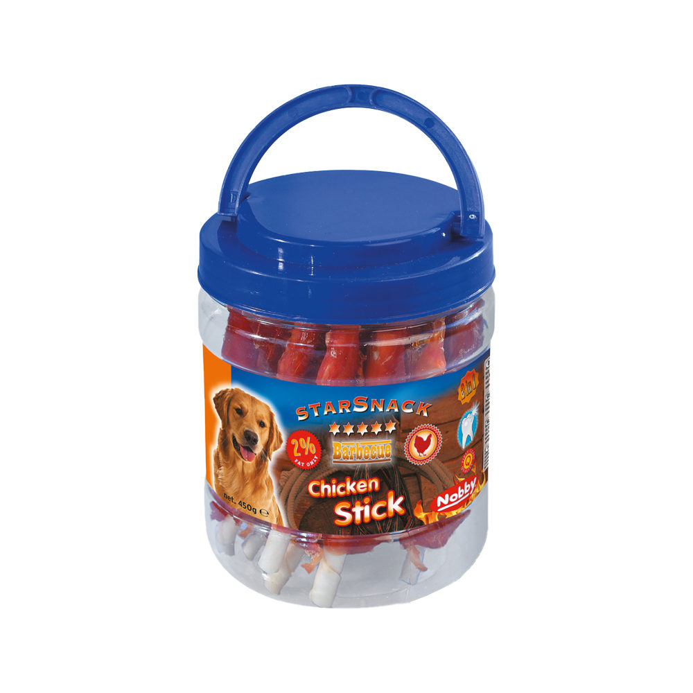 Nobby Starsnack BBQ - Chicken Stick Jar