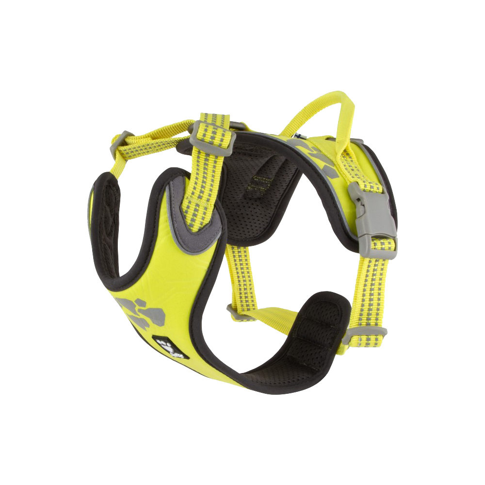 Hurtta Weekend Warrior Harness - Neon Lemon