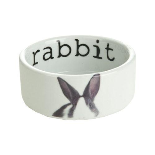Beeztees Snapshot Keramiknapf - Kaninchen