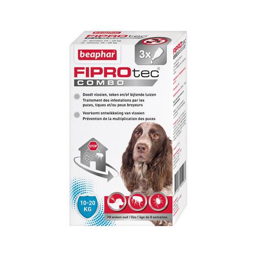 Beaphar Fiprotec Combo Spot-On Hund - 10-20 kg