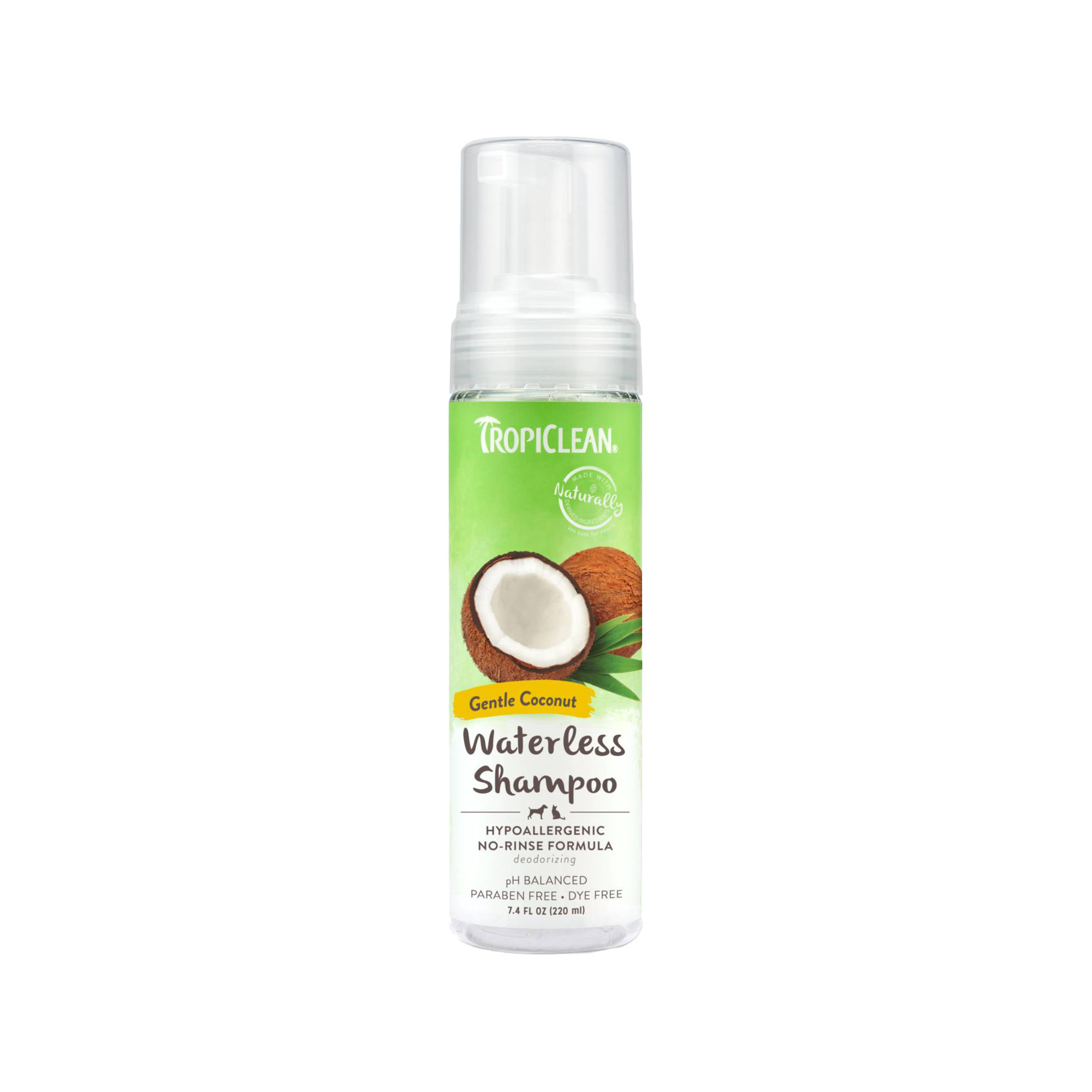 TropiClean Hypoallergenic Dry Shampoo for Dogs