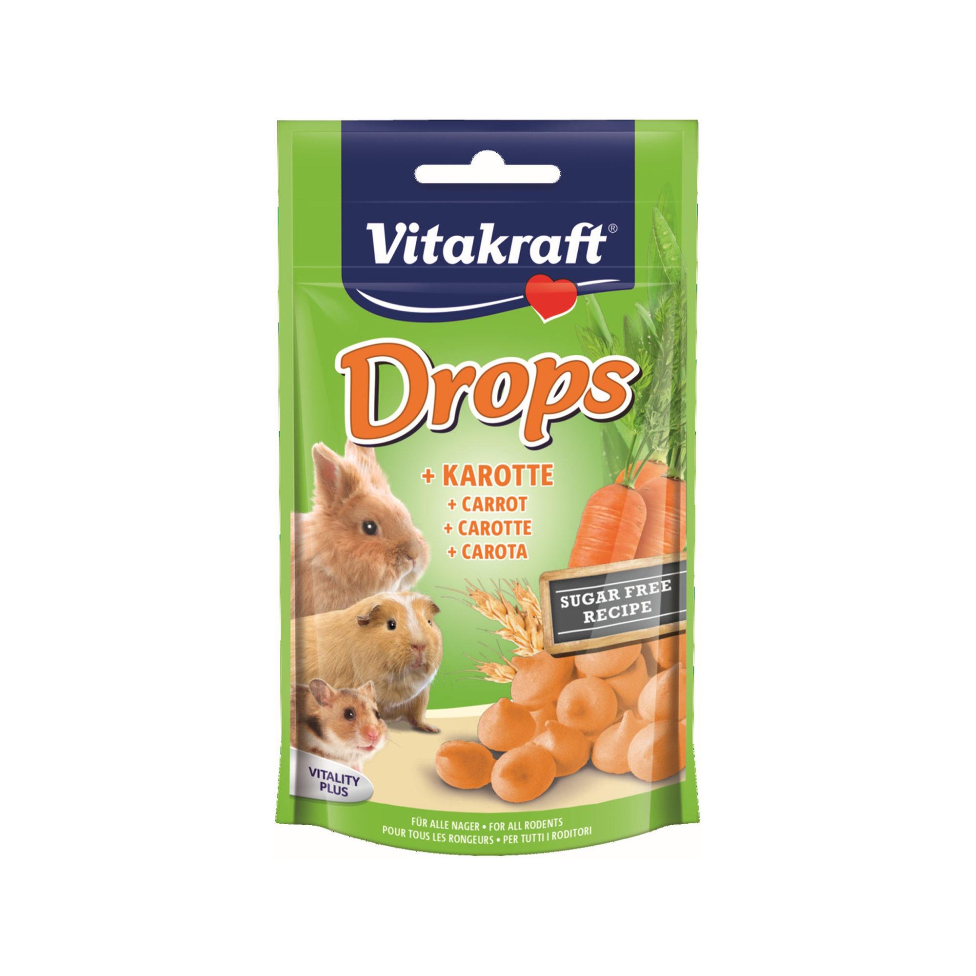 Vitakraft Drops Kaninchen & Nagetier - Karotte