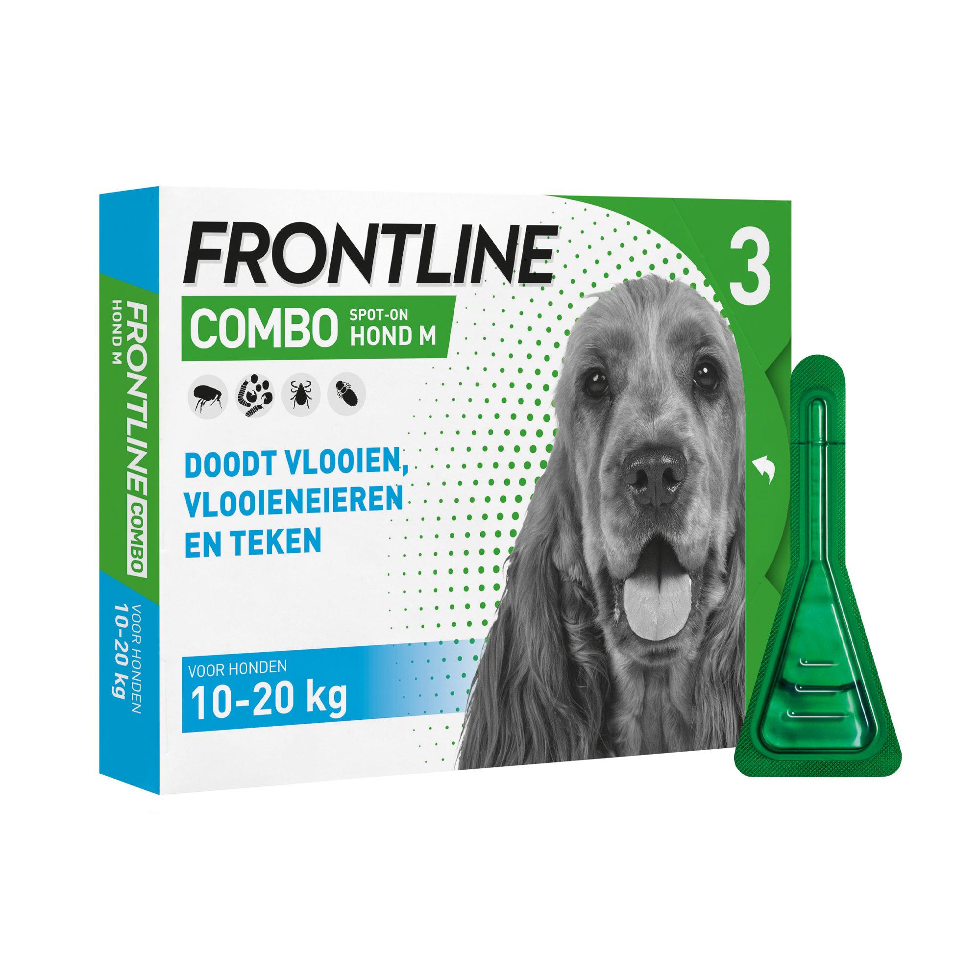 Frontline Combo Hund M - 10 - 20 kg