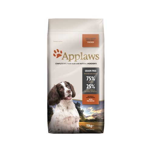 Applaws Adult Small & Medium Hundefutter - Huhn