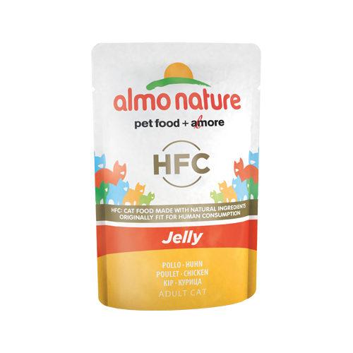 Almo Nature HFC Jelly Katzenfutter - Frischebeutel - Huhn