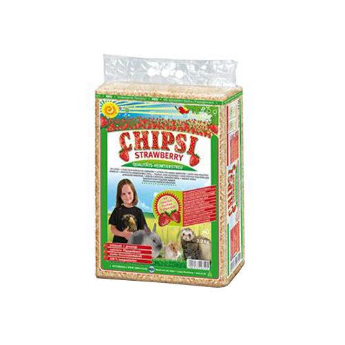 Chipsi Holzstreu - Erdbeere