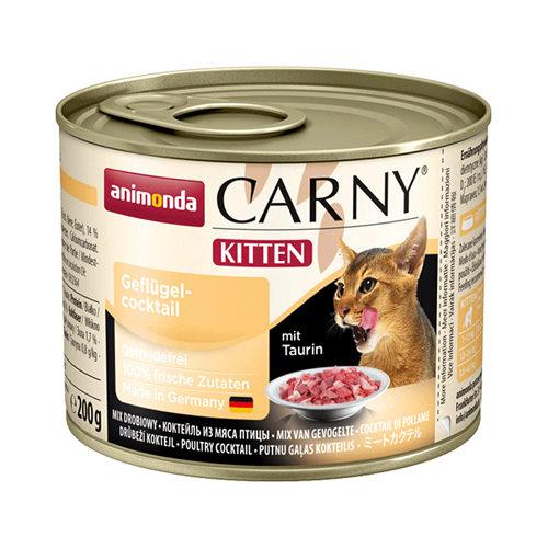 Animonda Carny Kittenfutter - Dosen - Rind & Geflügel