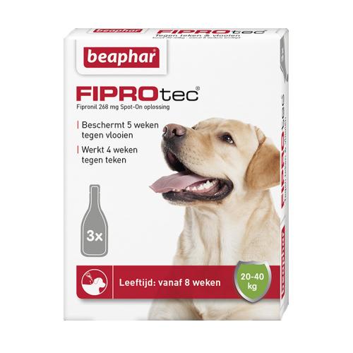 Beaphar FiproTec Spot-On Hund - 20 - 40 kg