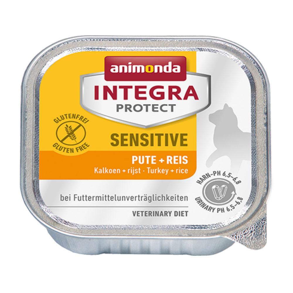 Animonda Integra Protect Sensitive Katzenfutter - Schälchen - Pute & Reis