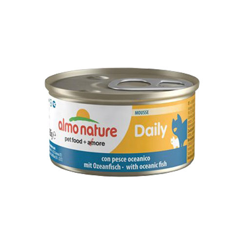 Almo Nature Daily Menu Mousse Katzenfutter - Dosen - Meeresfisch
