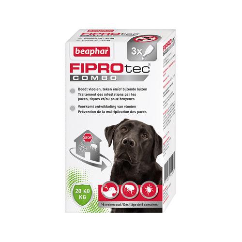 Beaphar Fiprotec Combo Spot-On Hund - 20-40 kg