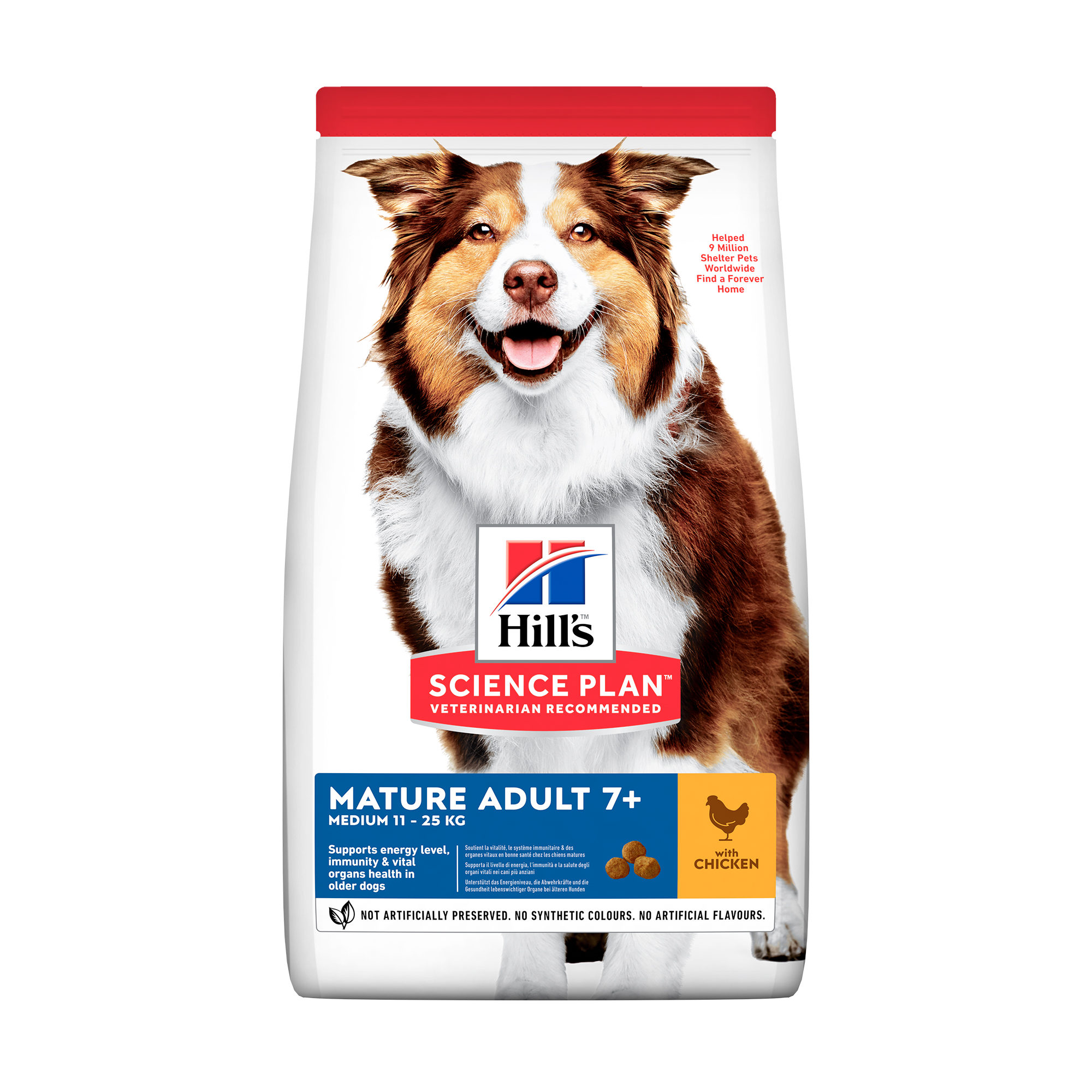 Hill's Science Plan Mature/Adult Active Longevity Medium Hundefutter - Huhn