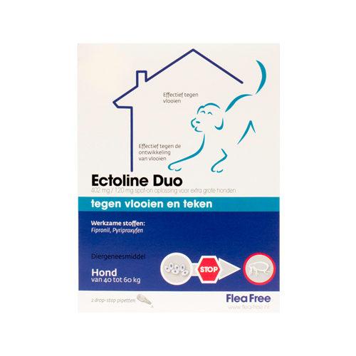 Flea Free Ectoline Duo Hund - 40 - 60 kg