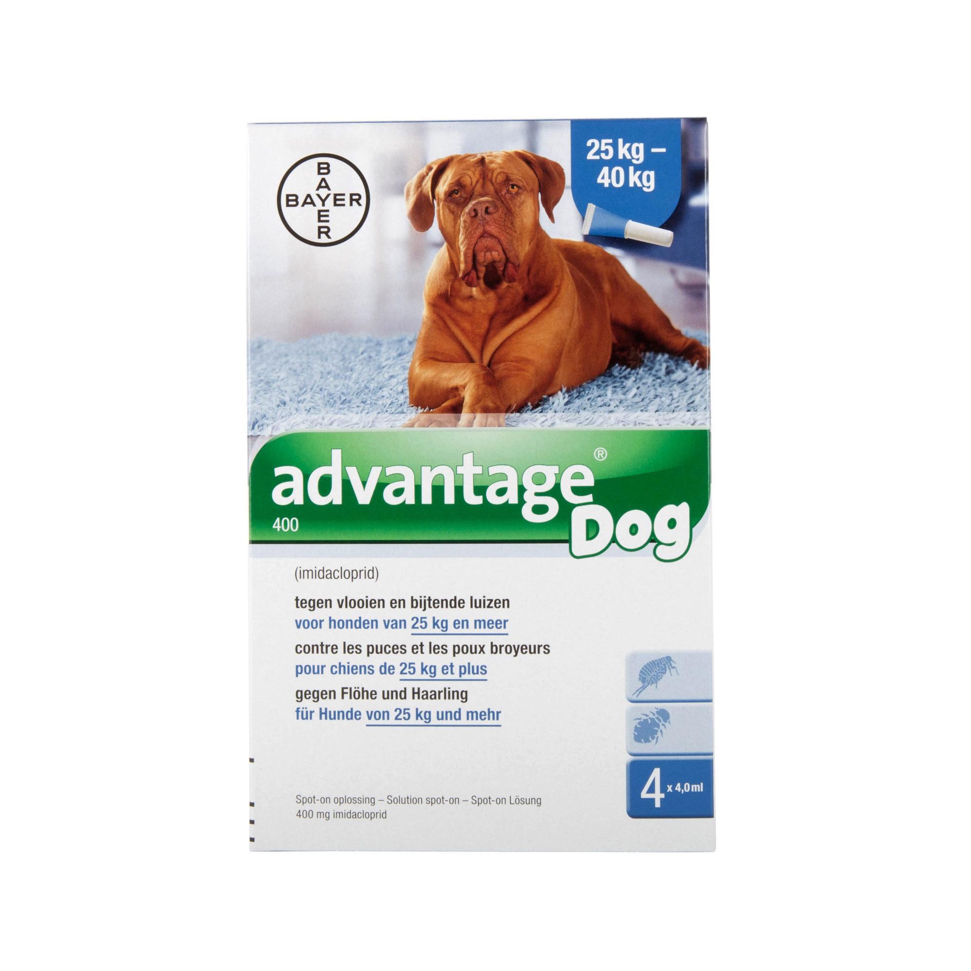 Advantage 400 Hund - 25 - 40 kg