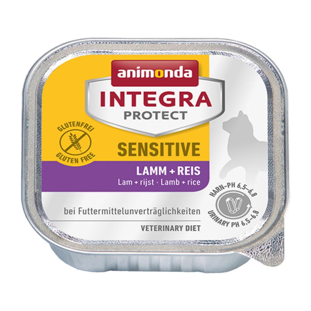 Animonda Integra Protect Sensitive Katzenfutter - Schälchen - Lamm & Reis