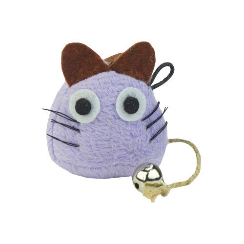 Crazy Cat Funny Mouse mit Catnip - Lila