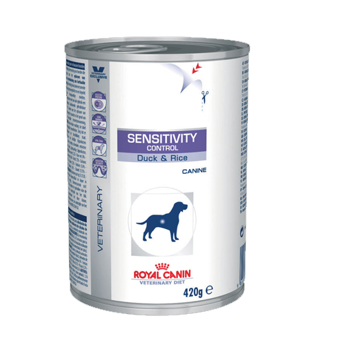 Royal Canin Sensitivity Control Hundefutter - Dosen - Ente & Reis