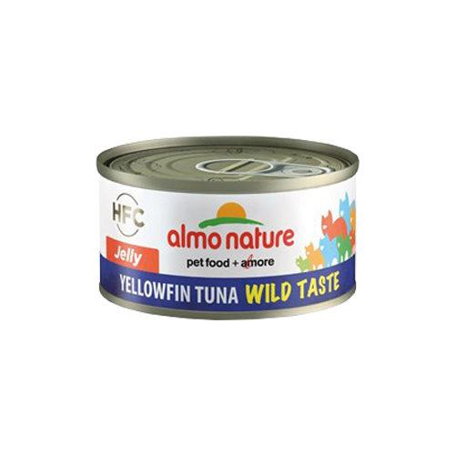 Almo Nature HFC 70 Wild Taste Jelly Katzenfutter - Gelbflossen-Thunfisch