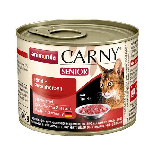 Animonda Carny Senior Katzenfutter - Dosen - Rind & Pute