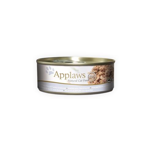 Applaws Katzenfutter - Dosen - Tuna Fillet & Cheese
