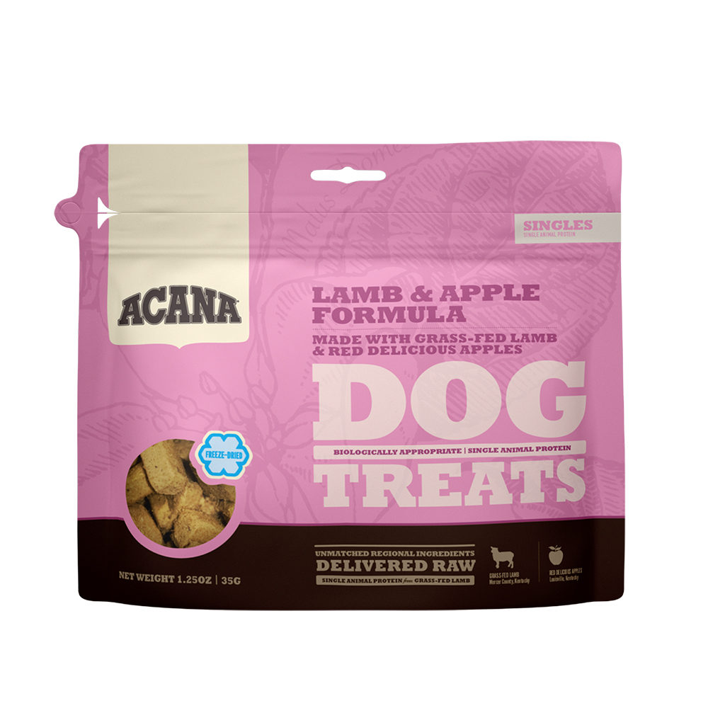 ACANA Singles Freeze Dried Treats Dog - Grass-Fed Lamb - 35 g
