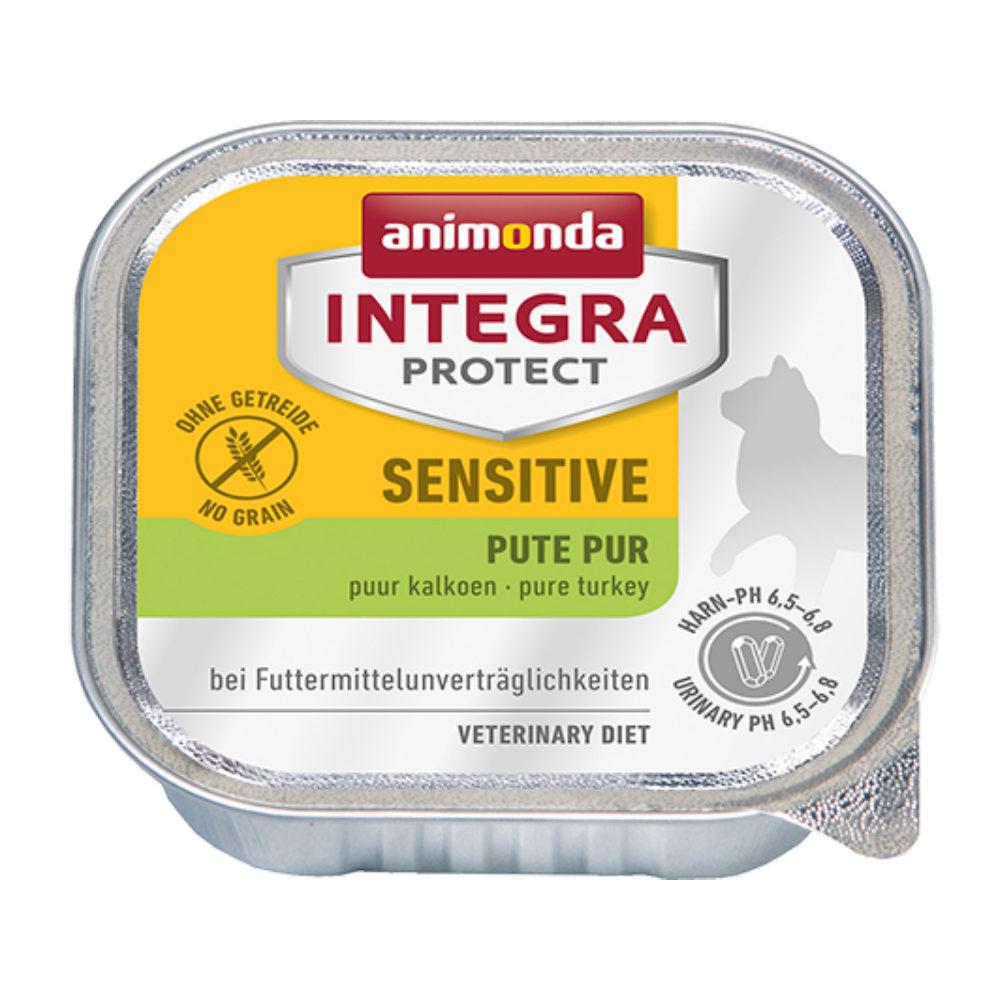 Animonda Integra Protect Sensitive Katzenfutter - Schälchen - Pute
