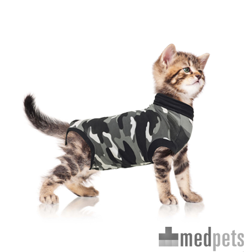 Suitical Recovery Suit Katze - Grau