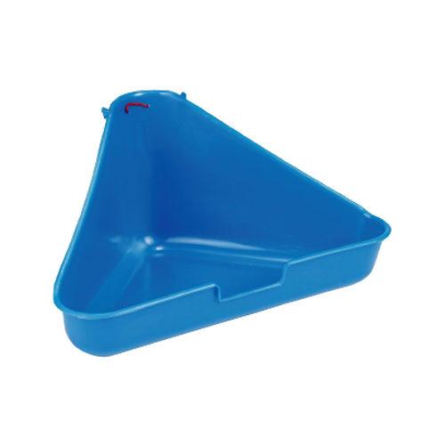 Beeztees Ecktoilette für Kleintiere - Blau