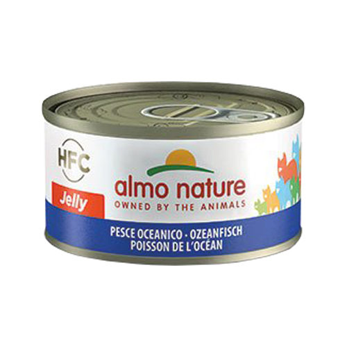 Almo Nature HFC 70 Jelly Katzenfutter - Dosen - Meeresfisch