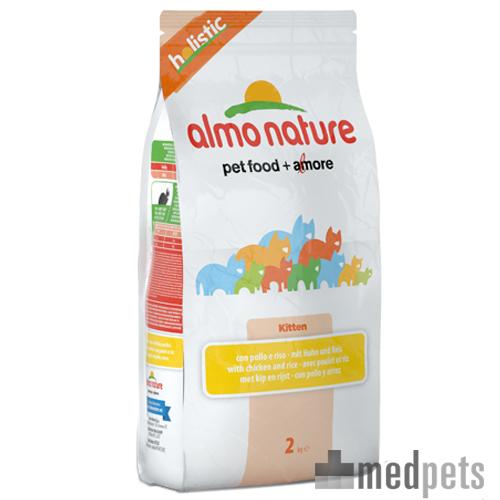 Almo Nature Holistic Kittenfutter - Huhn & Reis - 2 kg
