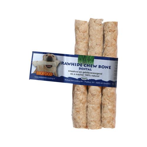 Biofood Kauknochen Rawhide Dental