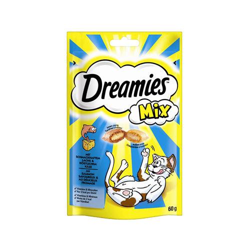 Dreamies Katzensnack Mix - Lachs & Käse