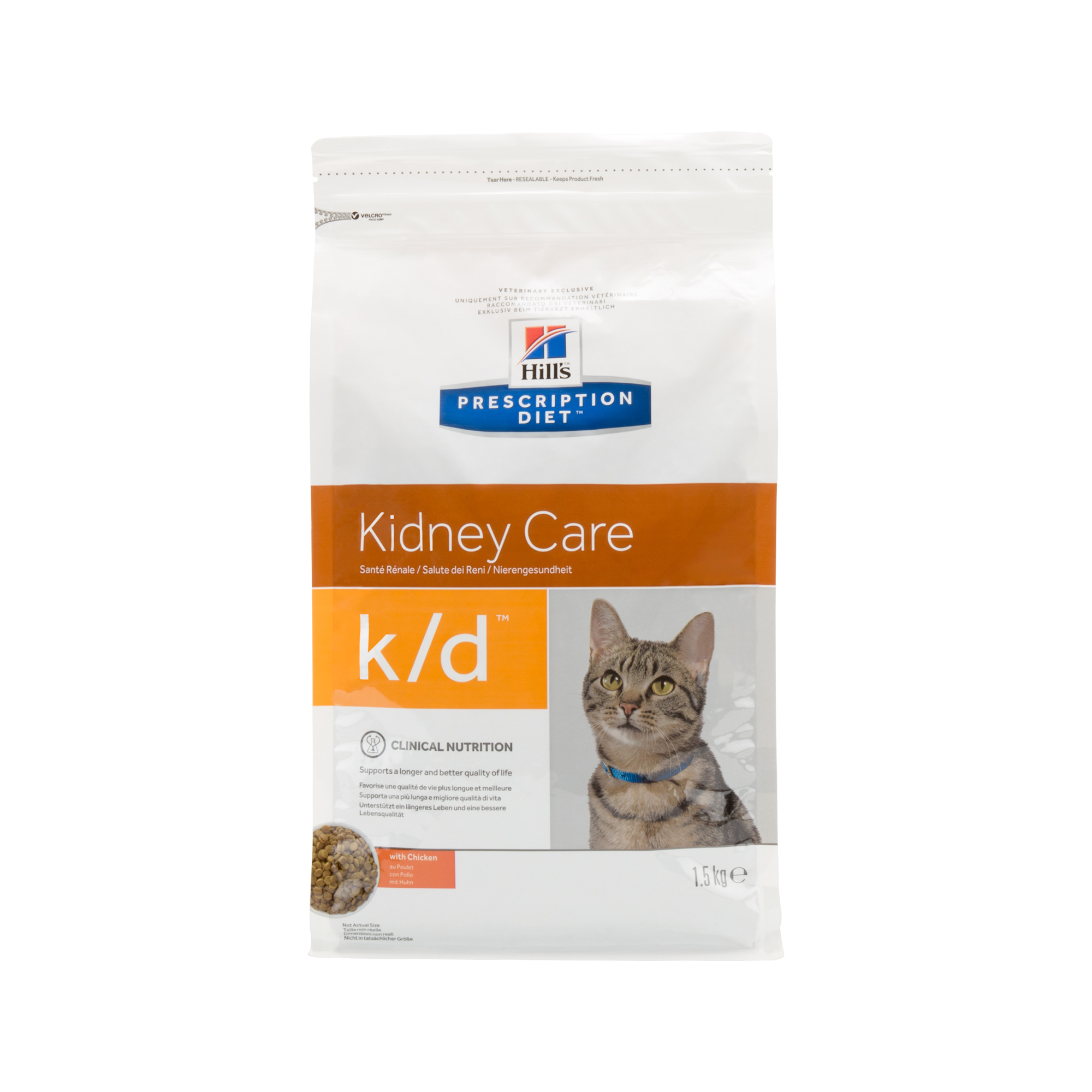 Hill's Prescription Diet k/d Kidney Care Katzenfutter - Huhn