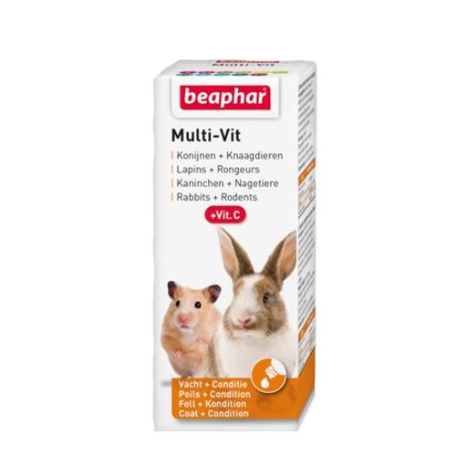 Beaphar Multi-Vit für Kaninchen und Nagetiere