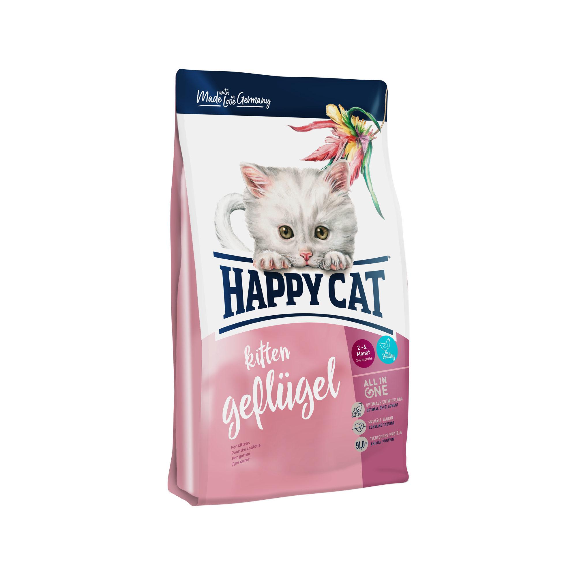 Happy Cat Kittenfutter - Geflügel