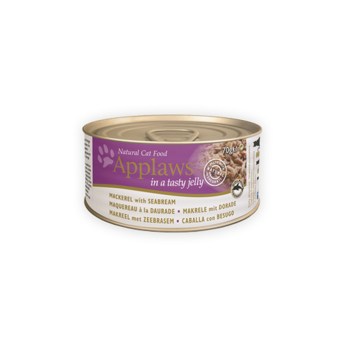 Applaws Jelly Katzenfutter - Mackerel & Seabream