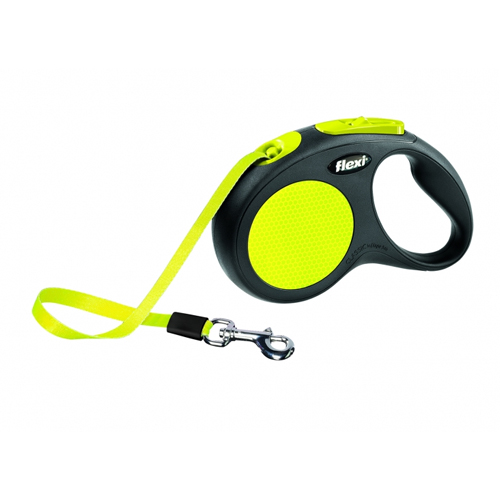 Flexi Gurt-Leine Neon Classic Tape Leash