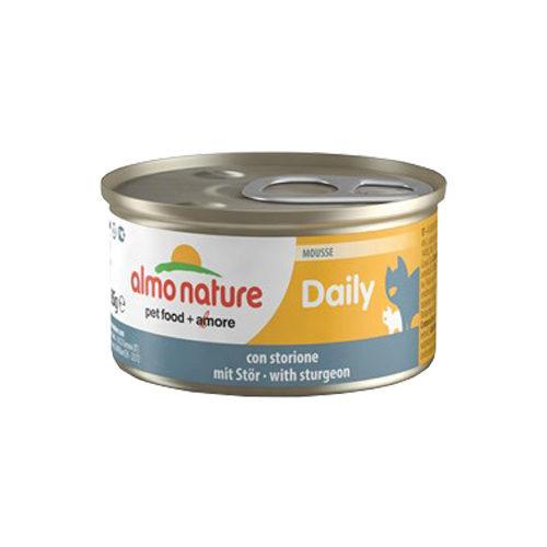 Almo Nature Daily Menu Mousse Katzenfutter - Dosen - Stör
