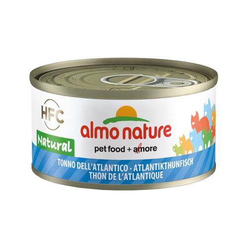 Almo Nature HFC 70 Natural Katzenfutter - Dosen - Atlantik Thunfisch