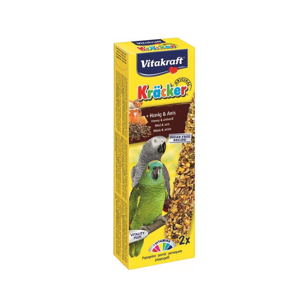 Vitakraft Papagei Kräcker - Honig & Anis