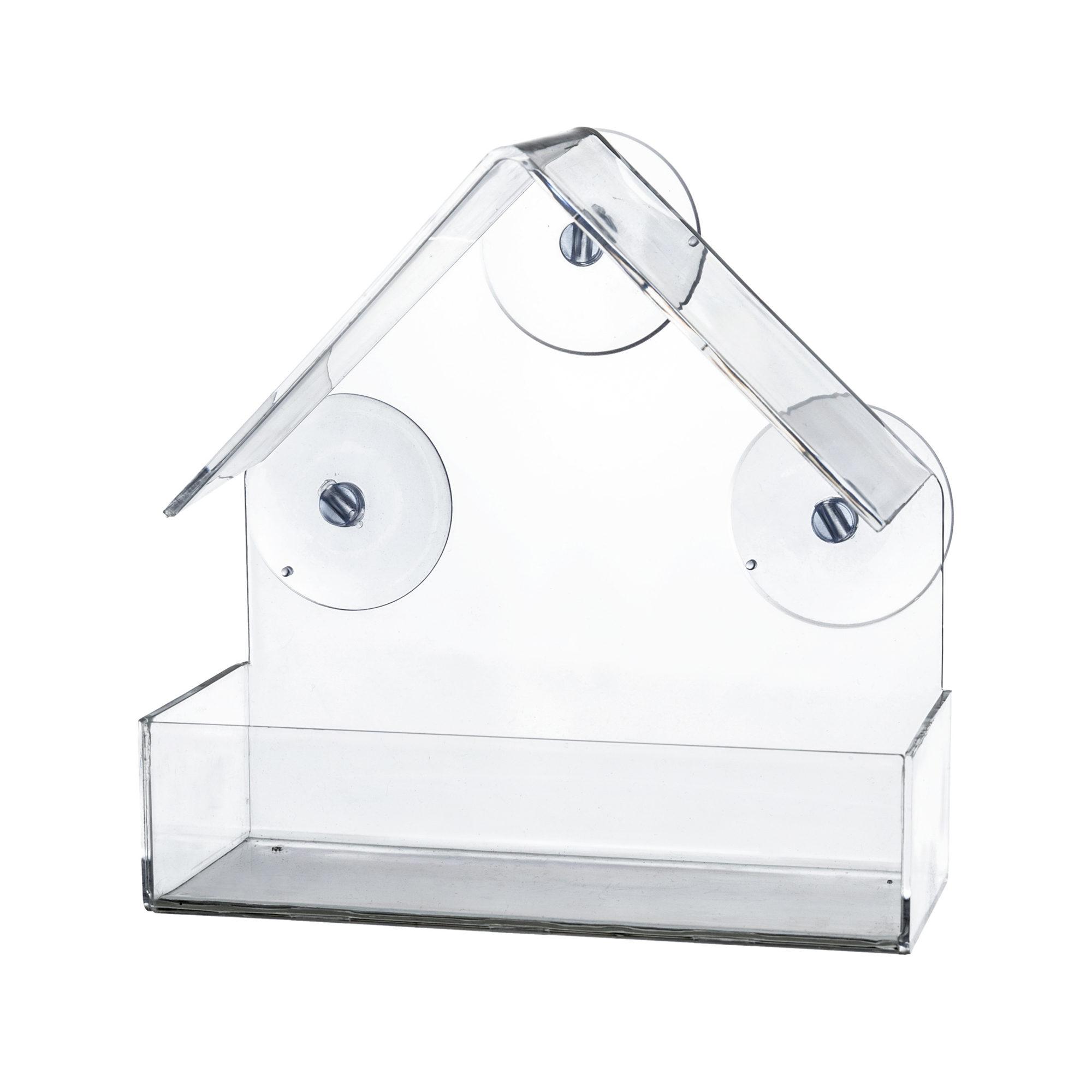 Trixie Fenster-Futterhaus transparent